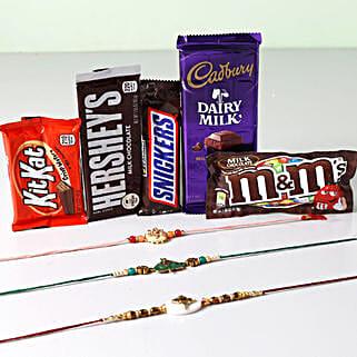 Ultra Chocolaty Rakhi Treat: Send Rakhi to Philippines