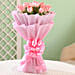 Online Roses In Wrapped Bouquet