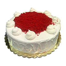 1 Kg Red Velvet Cake: Send Anniversary Cakes to Saudi Arabia