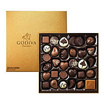Chocolate Box By Godiva 34: Send Chocolates to Saudi Arabia