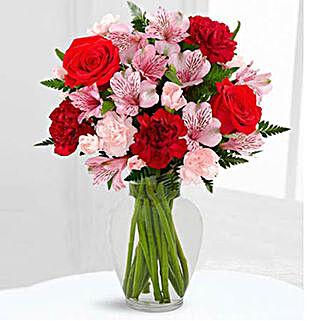 Love In Bloom Bouquet: Roses to Saudi Arabia