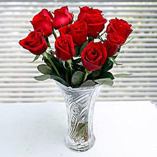 Pastoral Elegance: Valentine Roses to Saudi Arabia