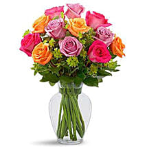 Pure Enchantment Rose Bouquet: Flower Delivery in Saudi Arabia