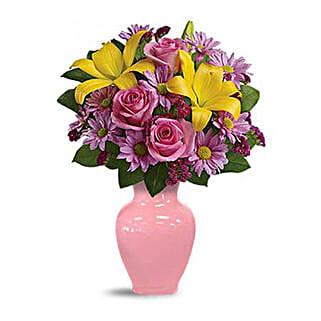 Spring Serenade Bouquet: Congratulations Flowers to Saudi Arabia