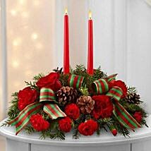 Classic Holiday Centerpiece: Send Christmas Flowers to Singapore