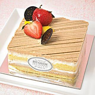Mont Blanc Vanilla Cake