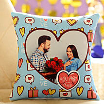 You Are The One Personalised Cushion