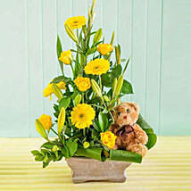 Baby Flower Arrangement: Romanic Gifts to South Africa