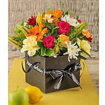 Birthday Flowers in a Box: Xmas Gift Delivery South Africa
