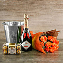 Orange Passion Gift Of Romance: Send Gifts to South Africa