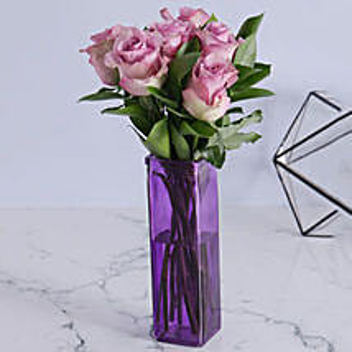 Precious Light Purple Arrangement: Flower Delivery South Africa