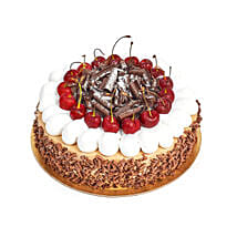 4 Portion Blackforest Cake: Same Day Gift Delivery in UAE
