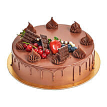 4 Portion Fudge Cake: Send Cakes to UAE
