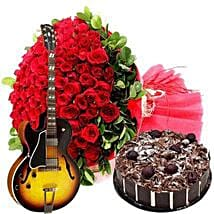 An Experience of Wonder: Flowers & Guitarist Service to UAE