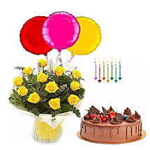 Birthday Surprise Collection 2: Flower and Cake Delivery in UAE