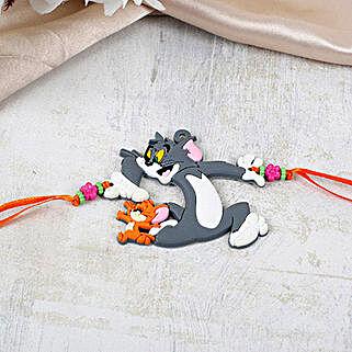 Cute Tom And Jerry Rakhi: Kids Rakhi to UAE