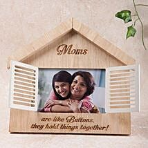 Hut Shaped Personalized Frame: Mother's Day Gift Delivery in UAE