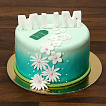 Mothers Day Fondant Cake 1 Kg: Mother's Day Gift Delivery in UAE
