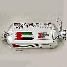 National Day Silver Box 8 Pieces: Send Chocolates to UAE