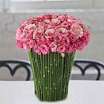 Plushy Pink: Same Day Rose Delivery in UAE