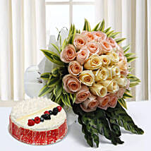 Sophistication Reprised: Valentine Flowers and Cakes to UAE
