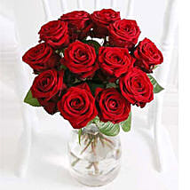 A Dozen Luxury Red Roses: Friends