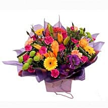 A Myriad of Colours: Mother's Day Bouquet in UK