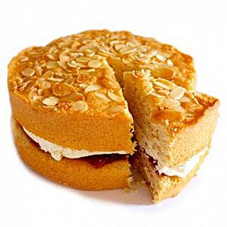 Bakewell Sponge Cake: Order Cakes to UK