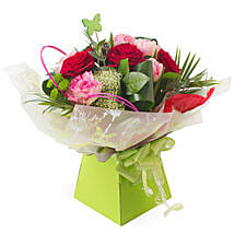 Butterflies and Roses: Friendship Day Flowers UK