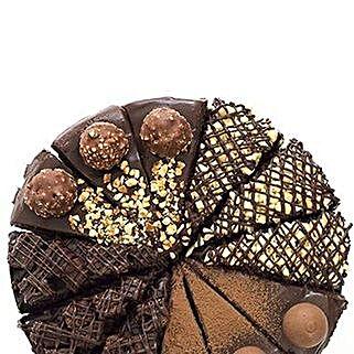 Chocolate Fudge Cake Variety: Send Cakes to Leicester
