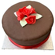 Chocolate Rose Cake: Cakes to Oxford