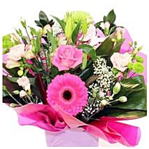 Designer Aqua: Flower Bouquet Delivery in UK