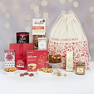 Festive Favourites Hamper: Christmas Gifts to UK