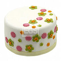 Flower Duet Cake: Send Cakes Oxford
