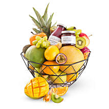 Fruit Dessert Gift Basket: Gift Baskets in London, UK