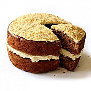Gluten Free Apple Crumble Sponge Cake: Send Cakes Oxford