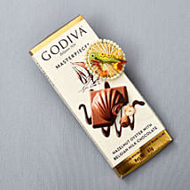 Godiva Masterpieces Chocolate With Tikka: Bhai Dooj Gift Delivery in UK