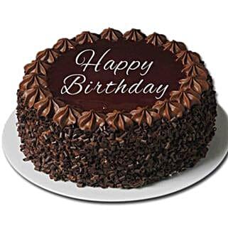 Happy Birthday Chocolate Cake: Cake Delivery UK