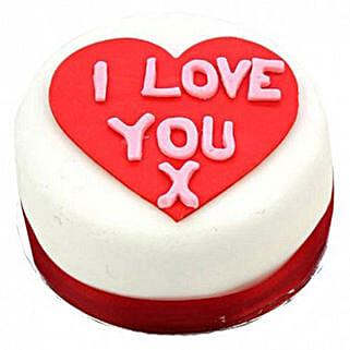 I Love You Heart Cake Egg Free: Birthday Cakes to London