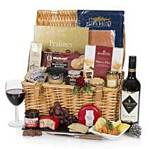 Luxury Christmas Cracker Hamper: Chocolate Delivery in London UK