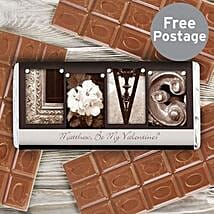 Personalized Milk Chocolate For Art Lovers: Chocolate Delivery in London UK