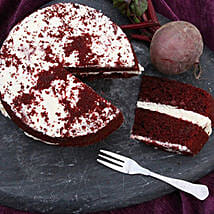 Red Velvet Sponge Cake: Send Cakes to Edinburgh