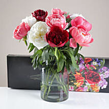 Special Letterbox Peonies Bunch: Flower Delivery UK