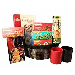 Tea Time Gift basket: Bhai Dooj Gift Delivery in UK