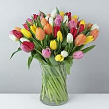 The Colorful Tulip Bunch: Flower Delivery UK
