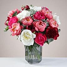 The Luxurious Peony Bunch: Send Flowers to UK