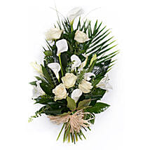 White Tied Sheaf: Sympathy & Funeral Flowers to UK