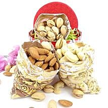 3 Dry Fruits Potli Combo: Send Dry Fruits to USA