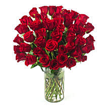 50 Long Stem Red Roses: Send Flowers to San Diego