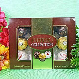 A Dozen Of Ferrero Collection: Send Chocolates to USA